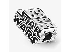 Pandora Star Wars, Silver 3D Logo Charm