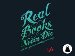 Real Books Never Die Tote