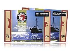 Wild Alaskan Smoked Salmon Bonus Pk (2)