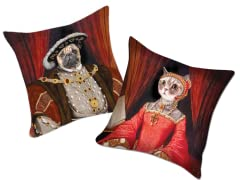 Perfect Pillow Covers: Pug or Kitty