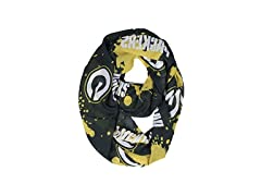 NFL Green Bay Packers Silky Spatter Infinity Scarf