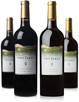 4-Pack Two Jakes of Diamonds Mixed Reds Wine