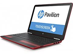 "HP Pavilion 15"" AMD A9 1TB Touch Laptops"