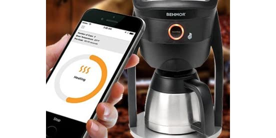 Home Coffee Maker With Water Connection : Behmor Connect Coffee Maker