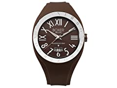 Men's BOX 40 BROWN Brown Dial Watch