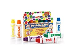 Do.A.Dot Art! Markers- 6-Pack, Rainbow