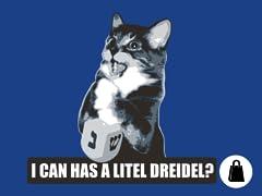 I Can Has Dreidel? Tote