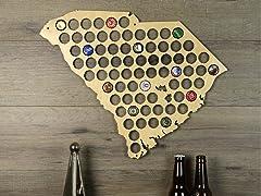 Beer Cap Map: South Carolina