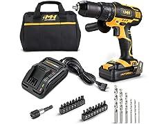 MOTORHEAD Hammer/Impact Drill Driver 2.0Ah Kit
