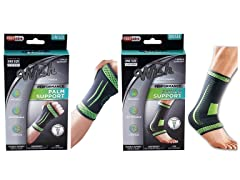 Palm and Ankle Support Sleeve Brace