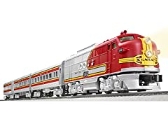 "Santa Fe ""Super Chief"" RTR Train Set"