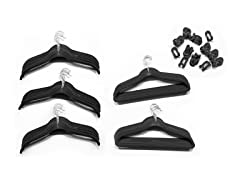 80-Piece Hanger Set (7 Colors)
