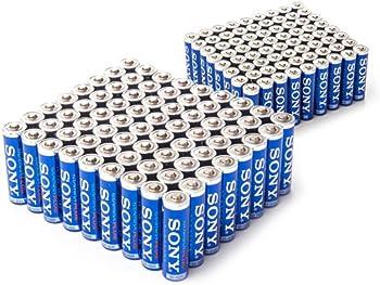 Sony 72 AA & 72 AAA Stamina Plus Batteries Pack