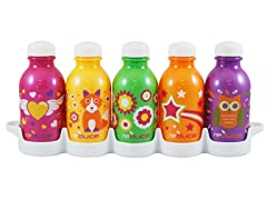 """Cutie"" 10oz Bottles 5-Pack"