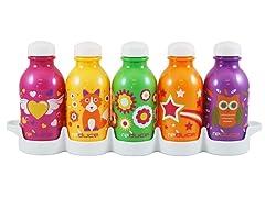 """Cutie"" 10oz Bottles 5-Pack"