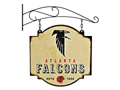 Atlanta Falcons Vintage Tavern Sign