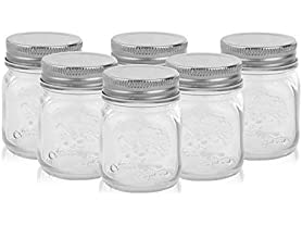 Golden Spoon Golden Spoon Mason Jars, Set of 6