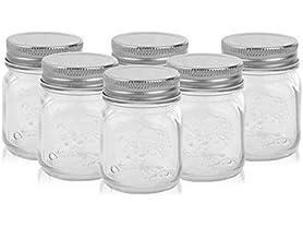 Golden Spoon Golden Spoon Mason Jars, Set of 6