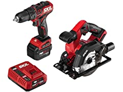 SKIL 12V Drill/Driver and Circular Saw Kit