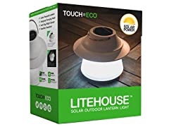 Touch Of ECO LITEHOUSE Solar LED Lantern With Hook
