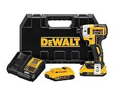 DeWALT 20V MAX Brushless Impact Driver Kit