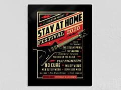 """Quarantine Festival"" Metal Poster"
