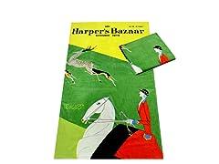 Harper's Bazaar-New York Fashions Towel