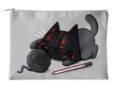 """Darth Cat"" Accessory Pouch"
