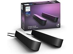 Philips Hue Smart LED Bar Light, 2-pack