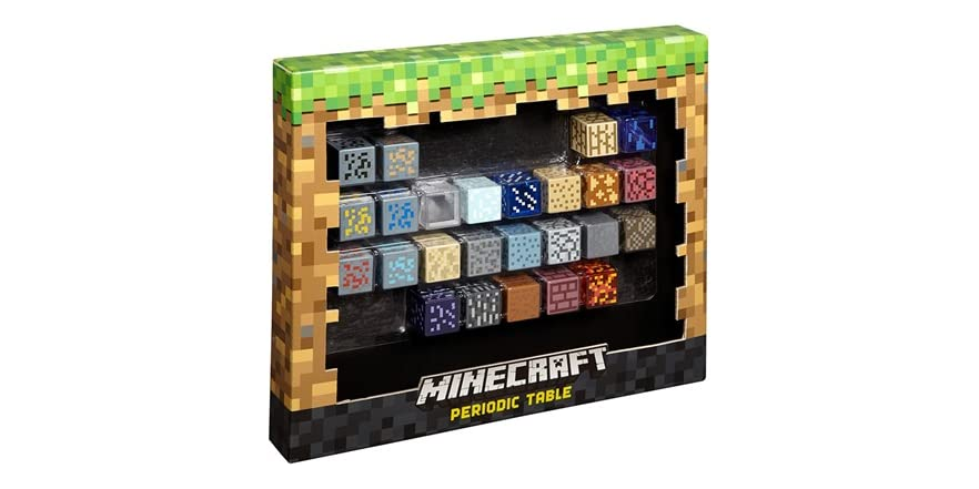 Minecraft periodic table of elements kids toys - Table d alchimie minecraft ...