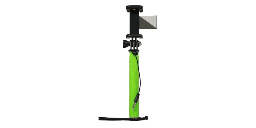 pen size mini selfie stick with mirror. Black Bedroom Furniture Sets. Home Design Ideas