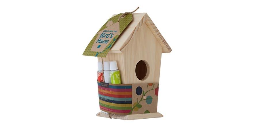Design your own birds house kit kids toys for Design your own house for kids