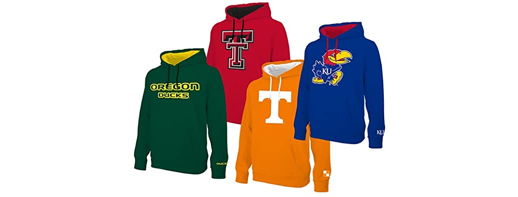 E5 NCAA Men's Mascot Hoodies