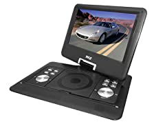 "14"" 720p Portable DVD Player with MP3, MP4, USB & SD"