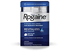 Men's Rogaine Foam for Hair Regrowth