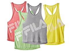 FILA Women's Twisted Back Singlet, 4 Colors