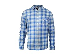 FOCO Detroit Lions Wordmark Flannel