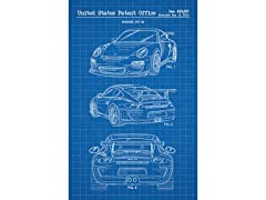 Porsche GT3 RS - 2009 - Screen Print