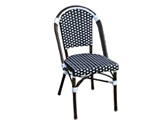 French Bistro Chair - Black/White