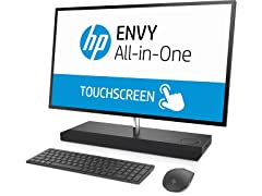 "HP ENVY 27"" Intel i5, QuadHD Touch AIO Desktop"