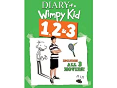 Diary of a Wimpy Kid 1, 2, 3 [Blu-ray]
