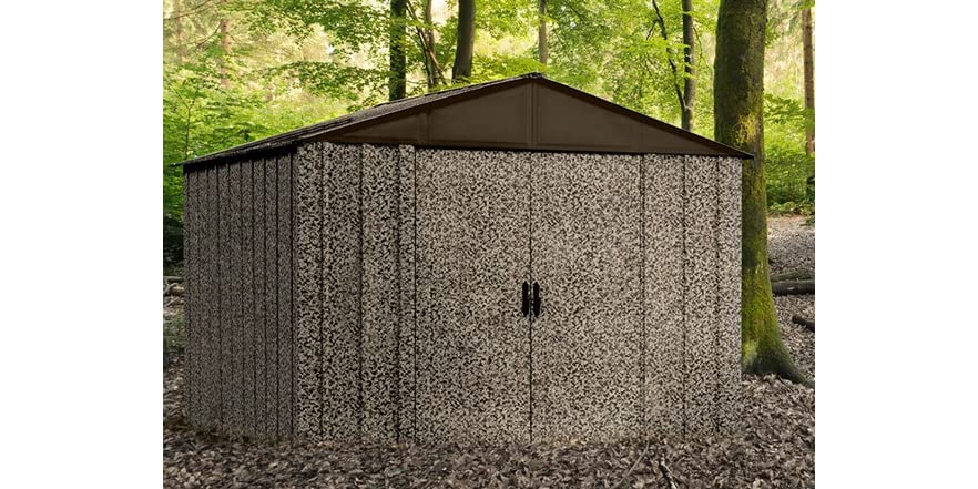 10 39 x 8 39 camo storage shed and floor kit for 10 x 8 metal shed with floor