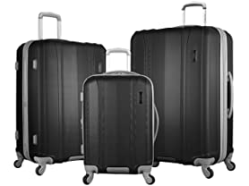 Olympia Luggage 3-Piece Set, 4 Colors