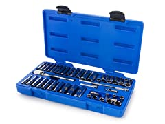 Armstrong 1/4-Inch Drive 6-Point Tool Set, 50-Piece