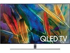 "Samsung Q7F 65"" QLED 4K UHD HDR Smart TV"