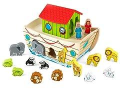 Noah's Ark Shape Sorter