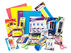 Giant School Supplies Bundle