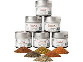Gustus Vitae World Spice Blends (6)