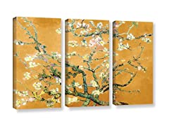 """Almond Blossom Ginger-Spice  - 36"""" X 54"""""""