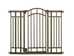 Decorative Walk-Thru Metal Gate